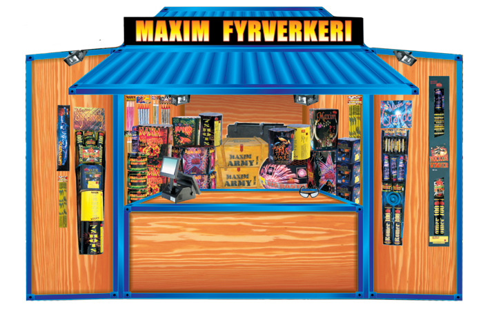 MF8888 Maxim Fyrverkeri